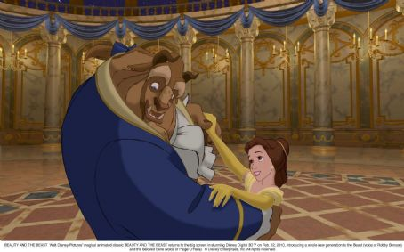 Beauty and the Beast Walt Disney Pictures' magical animated classic  returns to the big screen in stunning Disney Digital 3D Tm on February 12, 2010, introducing a whole new generation to the beast (voice of Robby Benson) and the beloved Belle (voice o