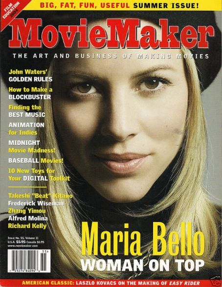 Maria Bello - MovieMaker Magazine Cover [United States] (June 2004)