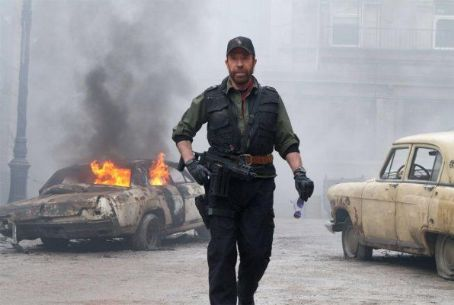 Chuck Norris - The Expendables 2