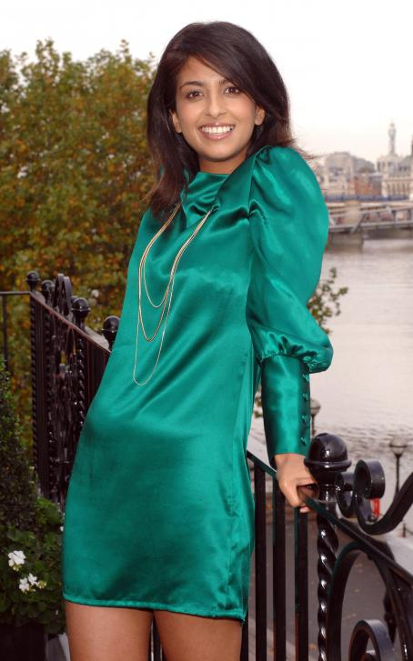 Konnie Huq - Npower's Climate Cops Photocall At The Globe Theatre On October 13, 2008 In London, England