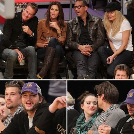 Lots of Love at the Lakers Game