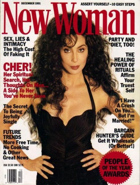 Cher - New Woman Magazine Cover [United States] (December 1991)