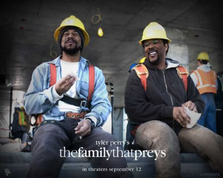 Rockmond Dunbar Tyler Perry's The Family That Preys Wallpaper