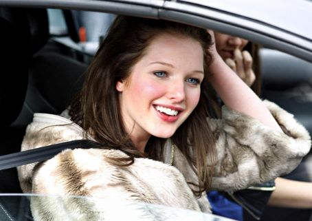 Helen Flanagan 'Coronation Street' Cast Arriving At Studio