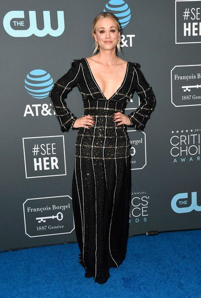 Kaley Cuoco Sweeting - The 24th Annual Critics' Choice Awards