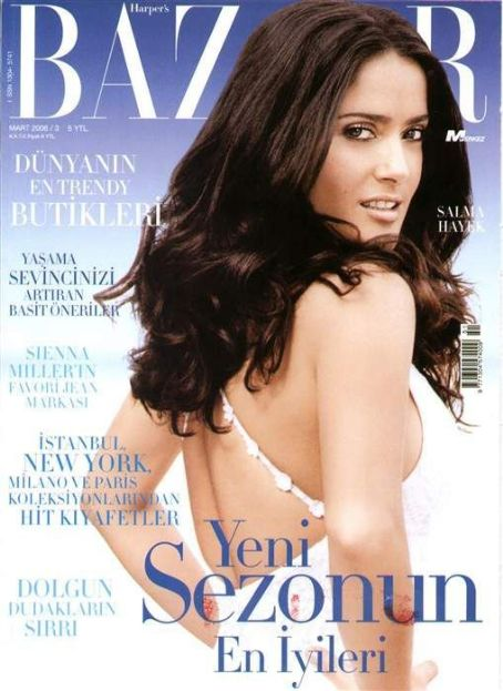 Harper's Bazaar Magazine Cover [Turkey] (March 2006)