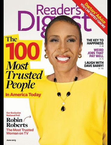 Robin Roberts - Reader's Digest Magazine Cover [United States] (June 2013)