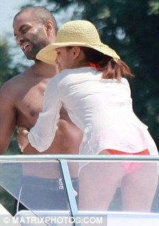 Eva Longoria and Tony Parker European holiday July 2010