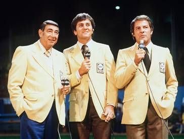 Frank Gifford Howard Cosell, Don Meredith &