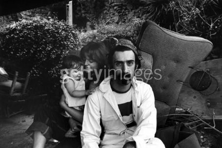 Gail Zappa Gail, Frank, and one of their kids