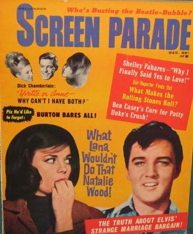 Natalie Wood - Screen Parade Magazine [United States] (December 1964)