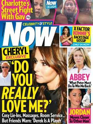 Cheryl Cole - Now Magazine Cover [United Kingdom] (24 July 2010)