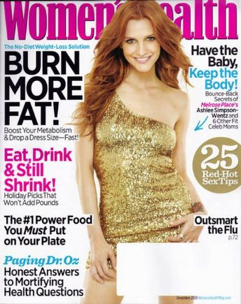 Ashlee Simpson Covers Women's Health