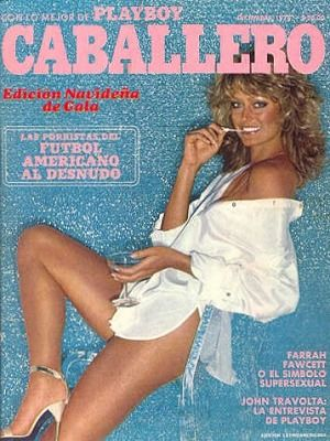Farrah Fawcett - Playboy Magazine Cover [Mexico] (December 1978)