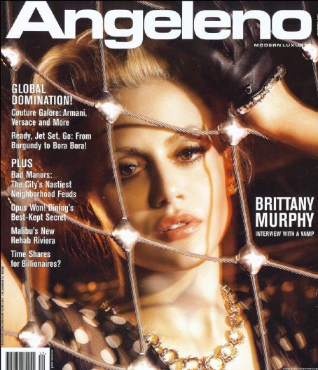 Brittany Murphy - Angeleno Magazine Cover [United States] (December 2006)