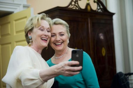 Meryl Streep - Meryl Street and Hilliary Rodum Clinton