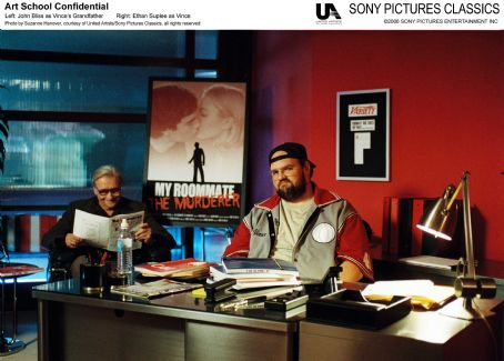 Ethan Suplee Left: John Bliss as Vince's Grandfather; Right:  as Vince. Photo by Suzanne Hanover, courtesy of United Artist/Sony Pictures Classics, all rights reserved