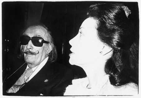 Salvador Dalí Ultra Violet and Salvador Dalí