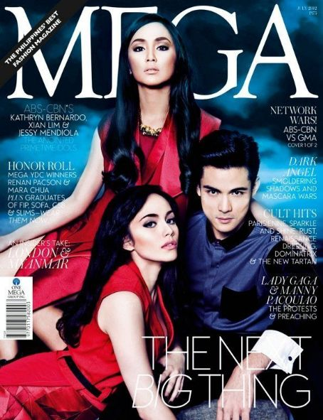 Kathryn Bernardo, Xian Lim - Mega Magazine Cover [Philippines] (July 2012)
