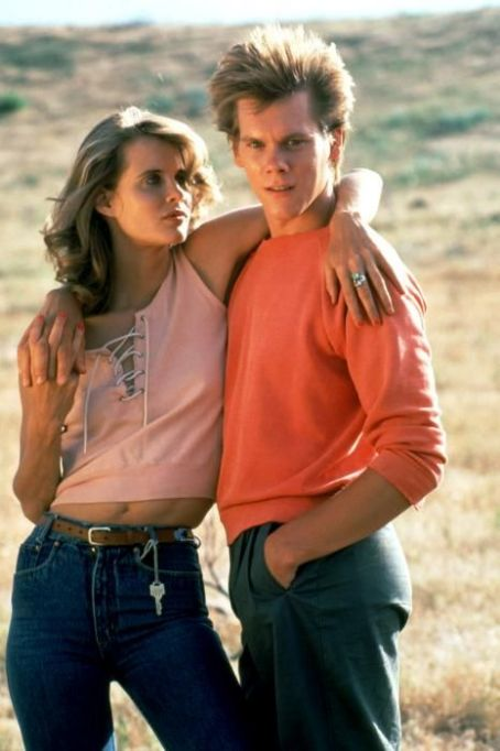 Footloose Lori Singer and Kevin Bacon in  (1984)