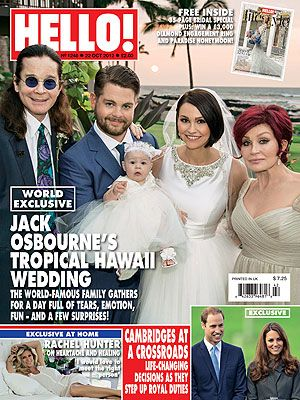 Jack Osbourne & Lisa Stelly's Wedding Photo