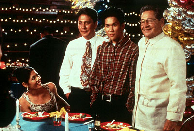 Dante Basco Eddie Garcia,  and Tirso Cruz in 5 Card Productions' The Debut - 2001
