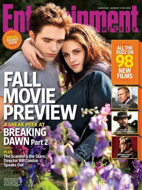 Kristen Stewart, Robert Pattinson Entertainment Weekly 17 August 2012