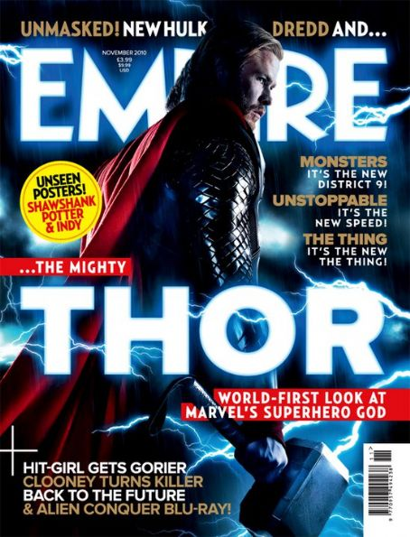 Chris Hemsworth - Empire Magazine [United Kingdom] (November 2010)