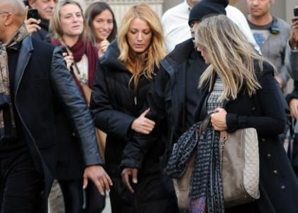 Blake Lively's On-Set Visit From Mom