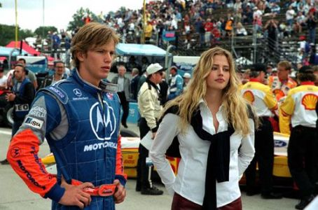 Driven Kip Pardue and Estella Warren in Warner Brothers'  - 2001