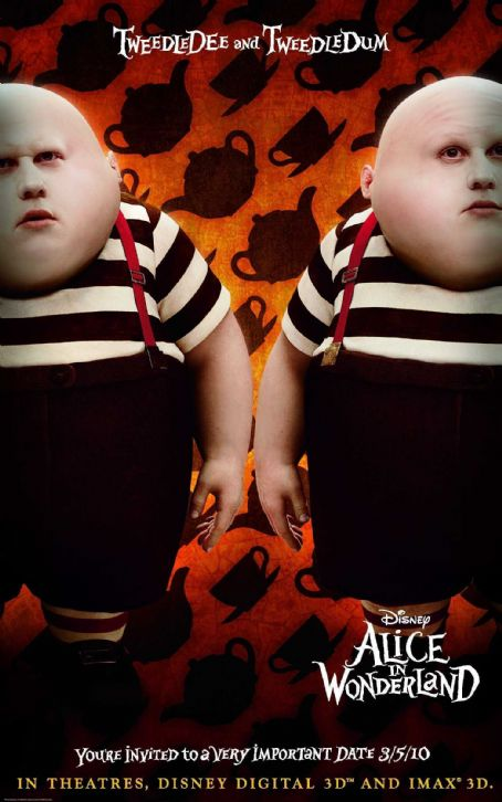 Matt Lucas  stars as Tweedledee and Tweedledum in Walt Disney Pictures' epic 3D fantasy adventure ALICE IN WONDERLAND. © Disney Enterprises, Inc. All rights reserved.