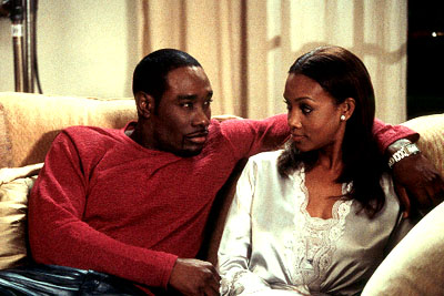 Two Can Play That Game Morris Chestnut and Vivica A. Fox in Screen Gems'  - 2001