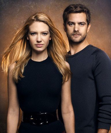 Peter Bishop Joshua Jackson and Anna Torv in TV Guide Magazine,Oct 20th, 2008