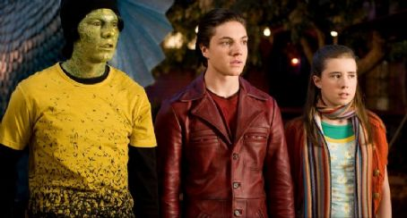 Cirque du Freak: The Vampire's Assistant Patrick Fugit as Evra the Snake Boy, Chris Massoglia as Darren Shan and Jessica Carlson as Rebecca in Cirque du Freak: The Vampire's Assistant.