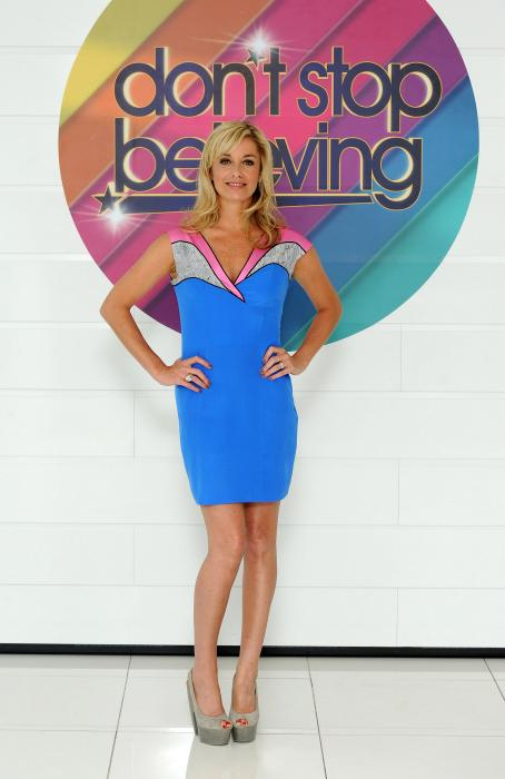 Tamzin Outhwaite - Photocall To Launch New TV Talent Contest - Don't Stop Believing On July 13, 2010 In London, England