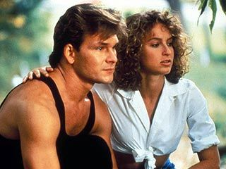 "Patrick Swayze As Johnny Castle And Jennifer Grey As ""Baby"" In Dirty Dancing (1987)"