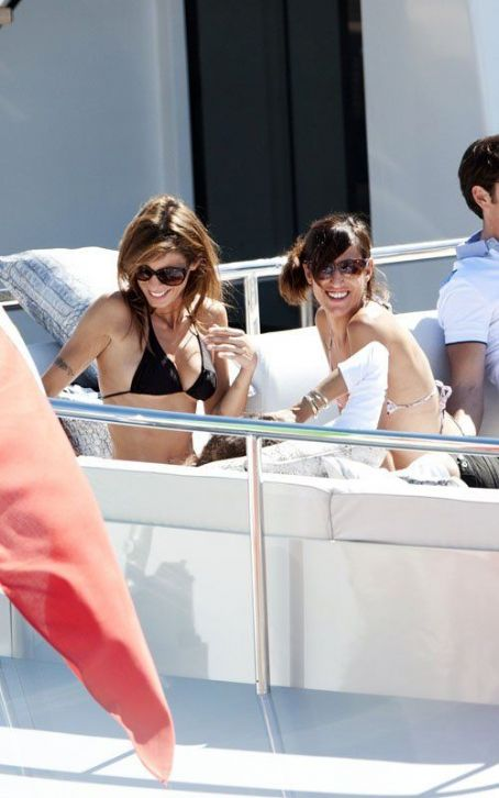 Elisabetta Canalis: Cannes Bikini Boating! ? Previous PhotoNext Photo ?