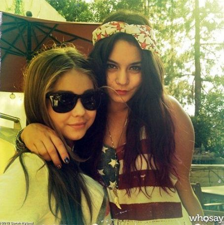 Vanessa Hudgens Get Pariotic on 4th of July