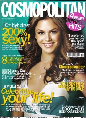 Rachel Bilson - Cosmopolitan Magazine Cover [United Kingdom] (October 2006)