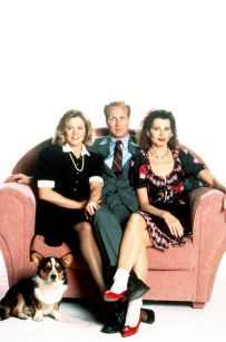 William Hurt, Geena Davis and Kathleen Turner in The Accidental Tourist (1988)