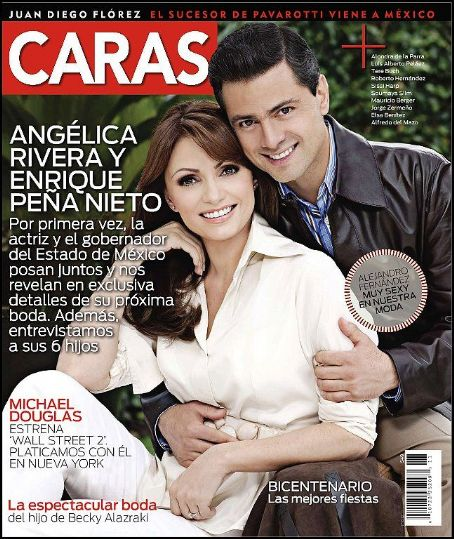 Angélica Rivera - Angelica Rivera and Enrique Peña Nieto