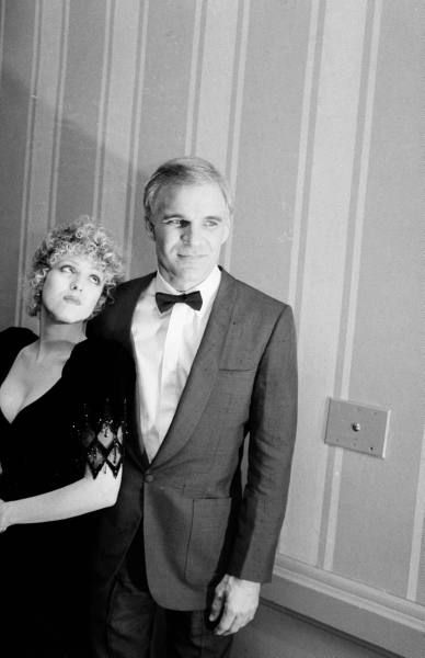 Steve Martin and Bernadette Peters