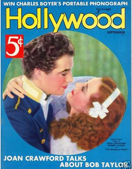 Robert Taylor - Hollywood Magazine [United States] (September 1936)