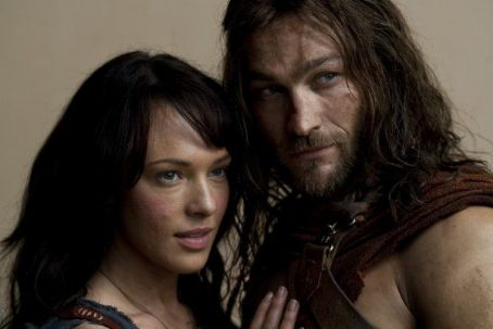Erin Cummings and Andy Whitfield - Spartacus: Blood and Sand (2010)