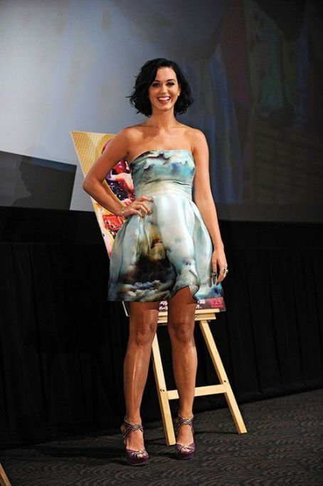 "Katy Perry: at the premiere of her film ""Katy Perry: Part of Me 3D"" in Tokyo"