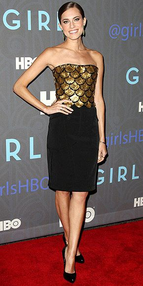Allison Williams: The Girls at the Season 2 premiere in N.Y.C