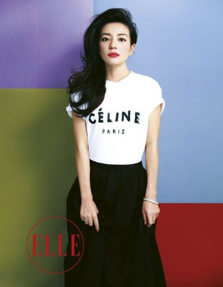 Zhao Wei Elle China January 2012