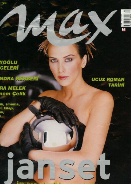 Janset - Max Magazine Cover [Turkey] (December 1998)