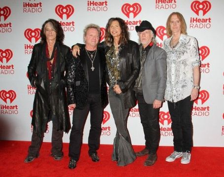 Tom Hamilton AEROSMITH SEEN ARRIVING TO THE SECOND DAY OF THE iHEART MUSIC FESTIVAL SEPT. 22, 2012