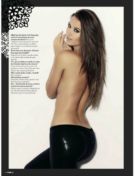 Talita Correa  FHM Spain January 2013